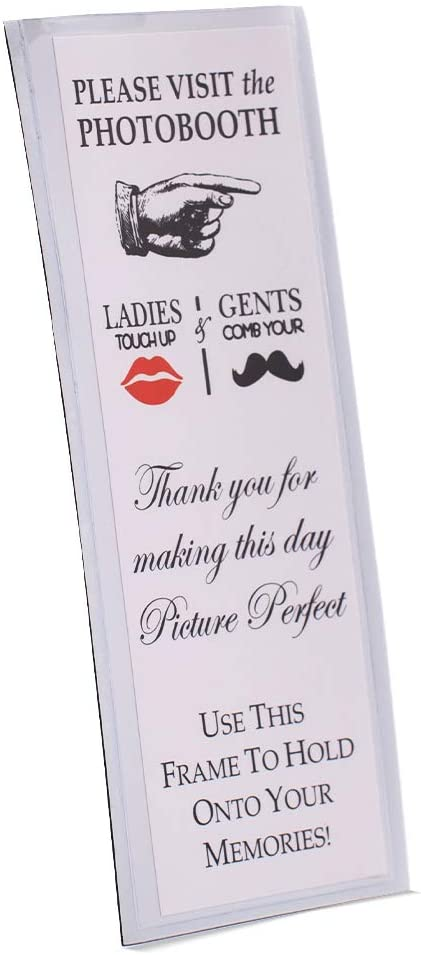 Photo Excellent Booth Frames - 2x6 Magnetic Free shipping on posting reviews 2