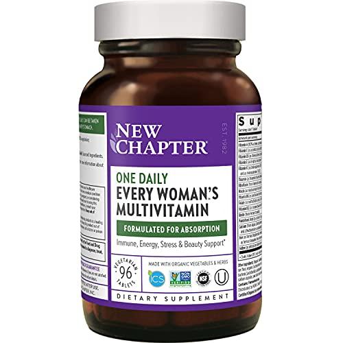 New Chapter Women's Multivitamin + Immune, Energy & Stress Support...