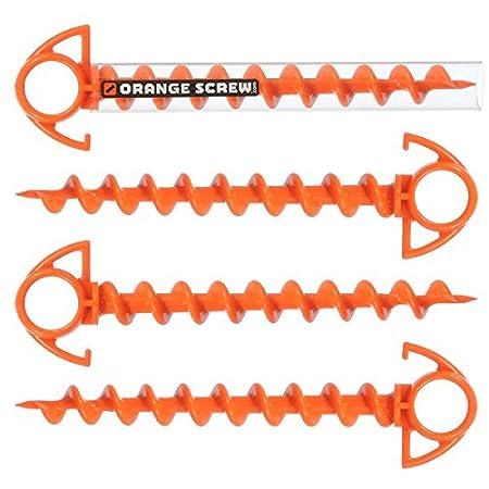 Orange Screw. The ultimate ground Anchor