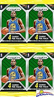 2018/2019 Panini PRIZM NBA Basketball Lot of FOUR(4) EXCLUSIVE Factory Sealed Retail Packs with 16 Cards! Look for Rookies & Autographs of Luka Doncic, Deandre Ayton, Jaren Jackson Jr & More! WOWZZER!