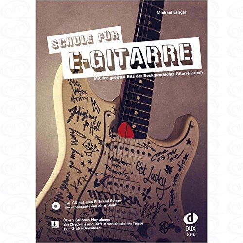 Escuela para guitarra eléctrica – arreglos para guitarra eléctrica – con CD [Notas/partituras] Compositor: Long Michael