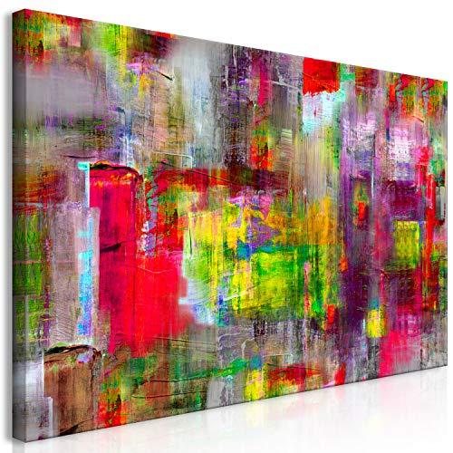 murando Wandbild Mega XXXL Abstrakt 270x135 cm Einteiliger XXL-Format Kunstdruck zur Selbstmontage Leinwandbilder Moderne Bilder DIY Wanddekoration Wohnung Deko bunt a-A-0217-ak-e