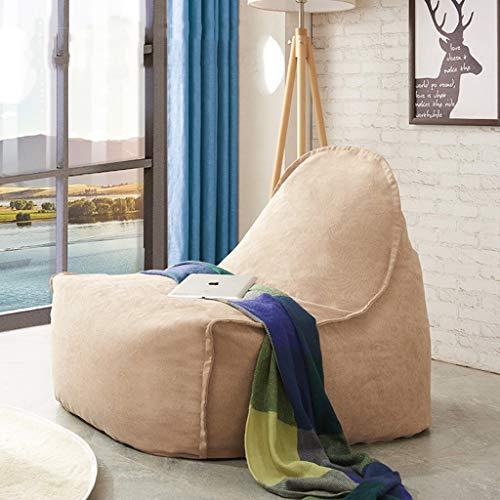 Jinxin-Chair Fauteuil en Forme de Pouf pour Chambre à Coucher, Salon, sans formaldéhyde, Remplissage de Particules
