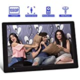 Jimwey 10.1 inch IPS Screen Digital Photo Frame, Digital Picture Frame with Motion Sensor, Timing...