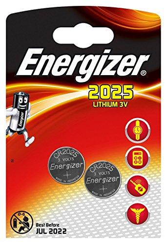 Energizer Lithium-Knopfzelle CR 2025 3V 2er Maxiblister
