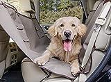 PetSafe Happy Ride - Hamaca para Perros, Funda para Asiento Trasero de Coche para Perros, Fácil de Usar, Impermeable, Lavable a Máquina, SUV y Camiones, 142 cm x 145 cm, Beige