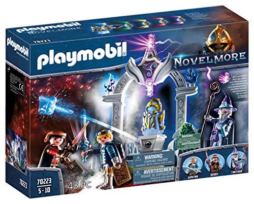 PLAYMOBIL Novelmore Templo del Tiempo con Efectos de Luz, Para Niños de 5 a 10 Años de edad (70223)
