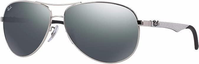 Ray-Ban Men's RB8313 Aviator Carbon Fiber Sunglasses