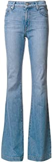 Derek Lam 10 Crosby Women's Mid-Rise Stretch Flare Jeans - Cropped Optional