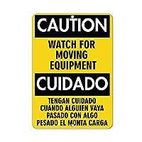 アルミニウム金属ノベルティ危険サイン注意移動装置の危険性、レトロなヴィンテージシックなスタイルの装飾的な古い家の装飾バーパブギフト用の金属サイン