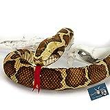 Peluche de serpiente de tigre Pitón Züngli, 150 cm