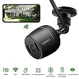 Caméra de sécurité extérieure Veroyi, caméra de sécurité pour la Maison de Surveillance 1080P WiFi IP avec la détection de...