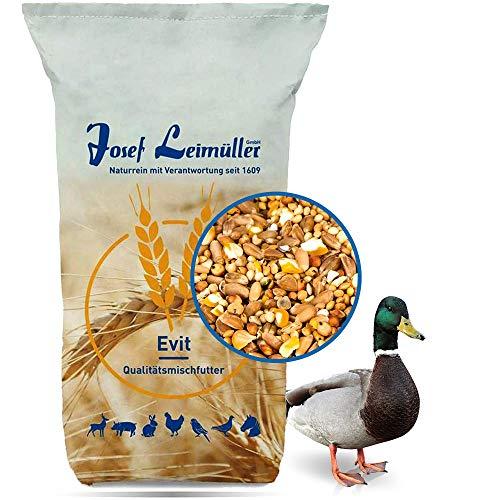 Leimüller Entenfutter Premiumqualität Alleinfutter gentechnikfrei 25 kg