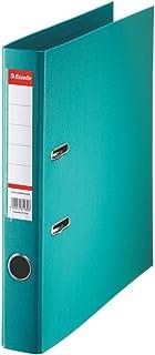 Esselte 320940 Classeur à levier Format A4 Capacité 350 feuilles Lagon