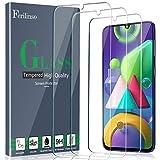 Ferilinso [3 Piezas] Protector de Pantalla para Samsung Galaxy A50/M21/M31/M30S/M31 Prime Cristal Templado Vidrio Templado, [Compatible con la Funda][2.8d Borde Redondo] [Alta Definición]