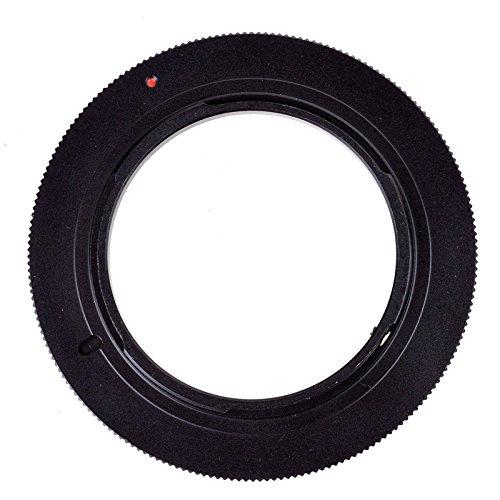 Quietgreen - 58mm Anillo de Adaptación inversión macro,Adaptador para Macro fotografia para Camara Nikon(bayoneta Nikon F)