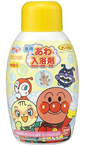 バンダイ(BANDAI) 薬用あわ入浴剤ボトルタイプ アンパンマン