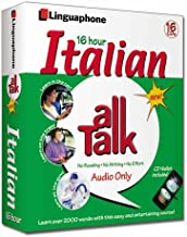 Italian All Talk Complete Language Course (16 Hour/16 Cds): Learn to Understand and Speak Italian with Linguaphone Language Programs