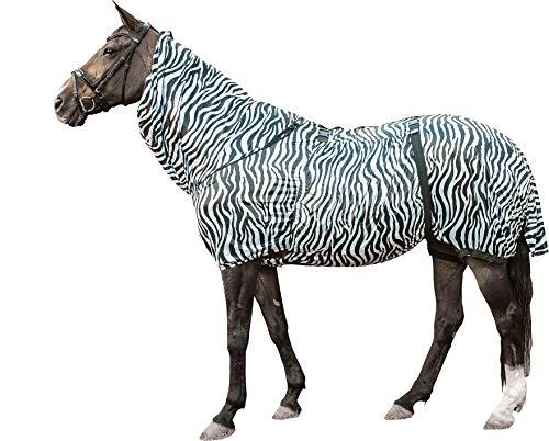 HKM Ekzemer-Decke -Zebra-, weiß/schwarz, 145