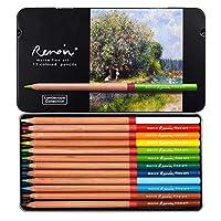 12色手描きプロ用ぬりえ油鉛筆セット