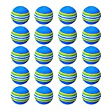 <span class='highlight'><span class='highlight'>LILI</span></span>S Practice Golf Balls,for Indoor/Outdoor Golf Balls Playground Toy Foam Balls,Rainbow Colored Soft Golf Ball,Blue. (Size : 20pcs)