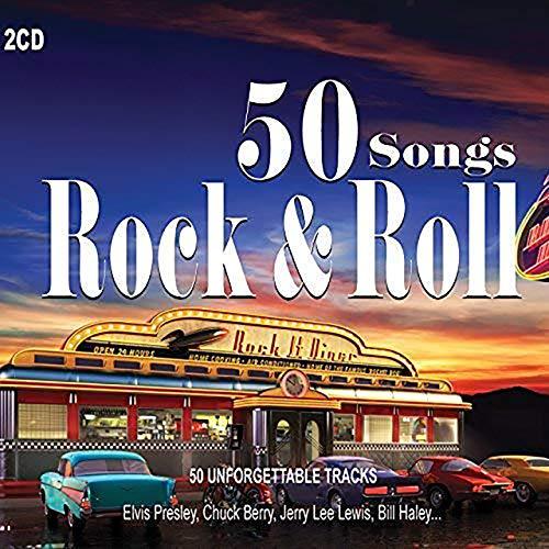 Le double CD des 50 plus gros succès du rock