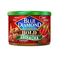 Contains 1 - 6 ounce container Gluten free, cholesterol free 6g of protein per serving, 3g fiber, 0g trans fat A good source of fiber, Smart Snacking on-the-go Complex and tangy sriracha heat paired with the light sweetness of almonds