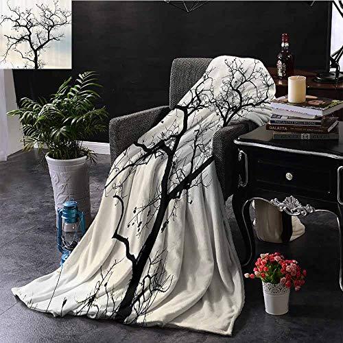 GGACEN bank deken zon verlicht een tapijt van Bluebells bloeit diep in Woodland in Oxfordshire comfortabel zacht materiaal, geven u een geweldige slaap