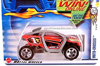 Hot Wheels 2002 First Editions Moto-Crossed 31/42 043 RED 1:64 Scale