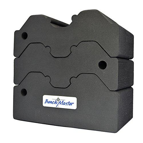 Benchmaster Weapon Rack Adj 3 Piece Bench Block