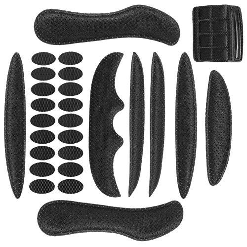 BESPORTBLE Helmpolster Schaumstoff Kit Ersatz Universal Schwammpolster Kit Sicherheit Helm Innenpolster Zubehör für Fahrrad Motorrad