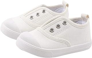 DEBAIJIA Niñas Niños Zapatos 2-5 Años Zapatillas de Deporte Lona Dulce Casual Suave Doble Suela de Moda Antideslizantes Tr...