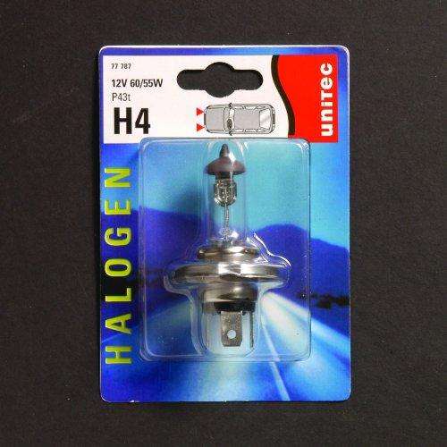 UNITEC 77787 Halogenlampe H4