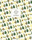 Avocado Notebook - Ruled Pages - 8x10 - Premium Cuaderno (Original)