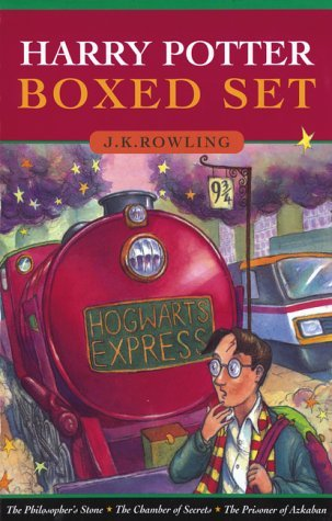 By J.K. Rowling - Harry Potter and the Philosopher's Stone, Chamber of Secrets, Pri (1905-07-06) [Hardcover]