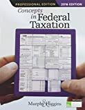 """Concepts in Federal Taxation 2016, Professional Edition (with H&R Block""""¢ Tax Preparation Software CD-ROM)"""