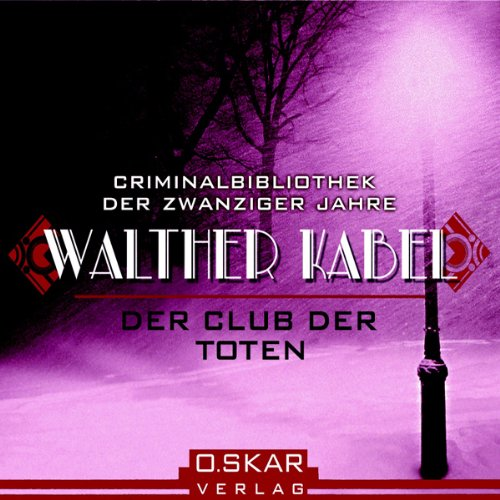 Der Club der Toten audiobook cover art