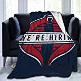 Smerkpawr Gi Joe Cobra Commander were Hiring Fleece Flannel Throw Blanket Lightweight Ultra-Soft Warm Bed Blanket Fit Sofa Suitable