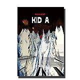Radiohead Kid Music Sänger Art Poster Büro Dekor Geschenk