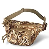 Hunting Camo Fanny Pack Camouflage Waist Bag for Hunters Waterproof Dry Grass