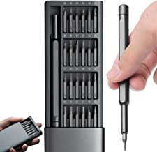 IFAN® Precision Screwdriver Set (24-in-1) with Magnetic Head and Pop-Up Storage Screwdriver Tool Box for Computer Laptop T...