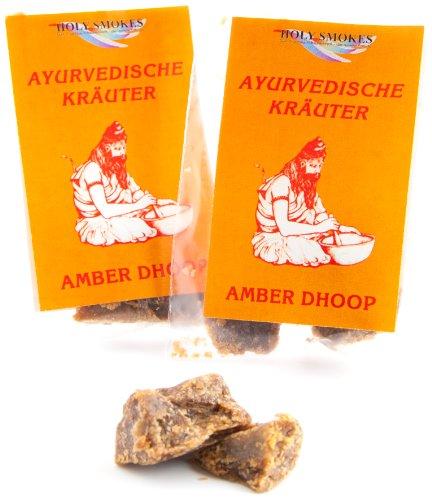 Berk HS-94-P2 Räucherwerk, 2 x Amber Dhoop 5 g