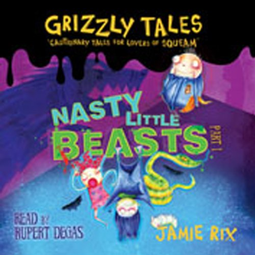 Grizzly Tales audiobook cover art