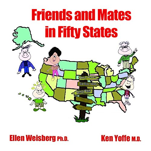 Friends and Mates in Fifty States audiobook cover art