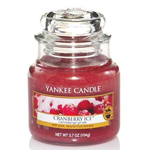 Yankee Candle Yankee candle duftkerze im glas klein   cranberry ice   brenndauer bis zu 30 stunden