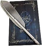 Agenda 2019-2020-2021 Harry Potter, diario, quaderno e penna di Hogwarts, set regalo di Harry Potter, taccuino vintage con penna a piuma per i fan di Harry Potter