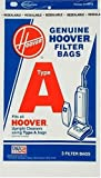 hoover 4010001a - Hoover 4010001A Type A Vacuum Bags, 9 Bags