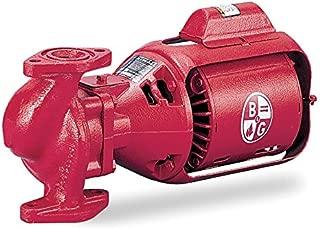 Bell & Gossett 1/6 HP Cast Iron 3-Piece Oil-Lubricated Booster Hot Water Circulator Pump - HV NFI