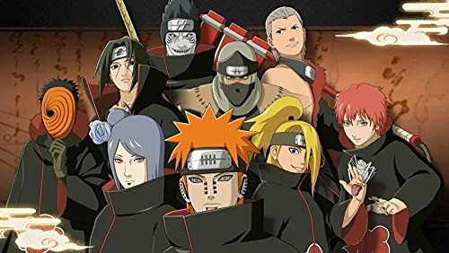 Rompecabezas De Madera 1000 Personalizados Diversión Para Adultos Juguetes Educativos Para Niños Cartel De Regalo Naruto Sasuke Naruto Akatsuki