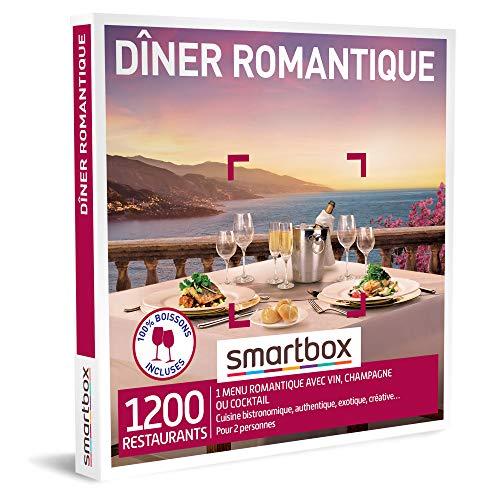 SMARTBOX - Coffret Cadeau couple - Dîner romantique